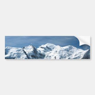 Mont Blanc France Bumper Sticker