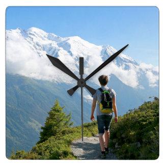 Mont Blanc France Clocks