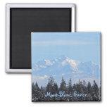 Mont-Blanc, France Fridge Magnet