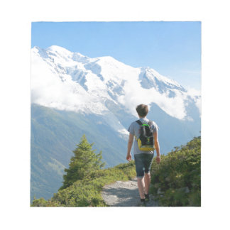 Mont Blanc France Notepad