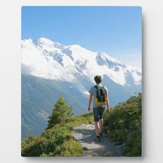 Mont Blanc France Plaque