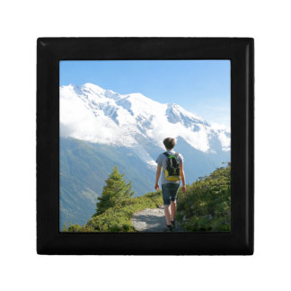 Mont Blanc France Trinket Box