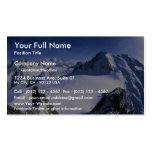 Mont Blanc, France Winter Business Card