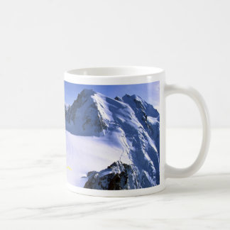 Mont Blanc, France Winter Coffee Mug