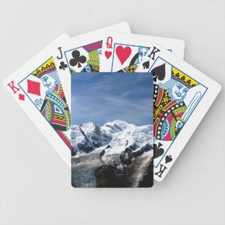 Mont Blanc Francia Baraja Cartas De Poker