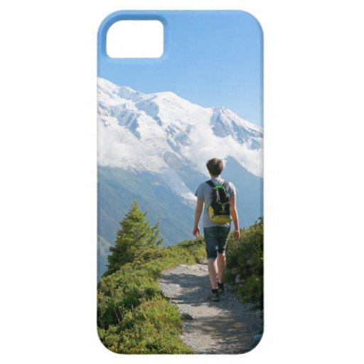 Mont Blanc Francia iPhone 5 Cárcasa