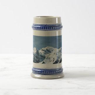 Mont Blanc Francia Jarra De Cerveza