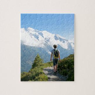 Mont Blanc Francia Puzzle