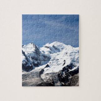 Mont Blanc Francia Rompecabeza