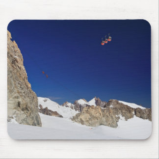 Mont Blanc massif and mer de glace Mouse Pad