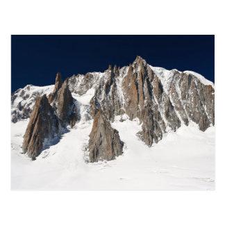 Mont Blanc massif Postcard