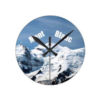 Mont Blanc Mountain - Magnificent Wallclocks