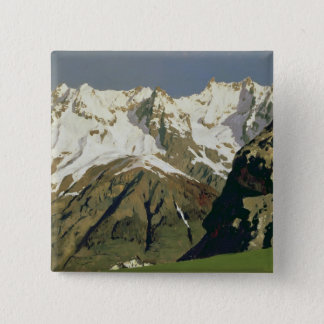 Mont Blanc Mountains, 1897 Button