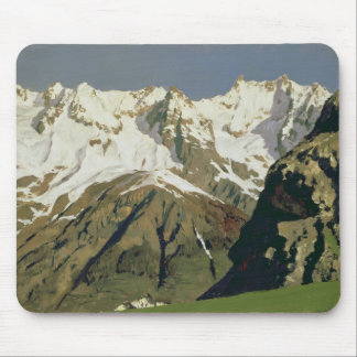 Mont Blanc Mountains, 1897 Mouse Pad