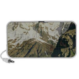 Mont Blanc Mountains, 1897 Laptop Speakers