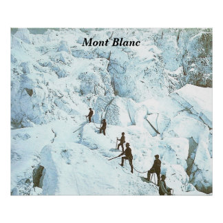 Mont Blanc - Posters