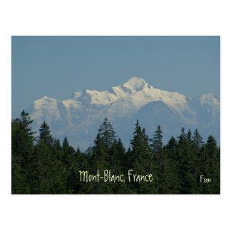 Mont-Blanc Post Card