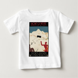Mont-Genevre Hautes-Alpes Baby T-Shirt