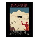 Mont-Genevre Hautes-Alpes Post Card
