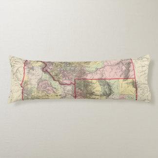 Mont, Ida, Wyo Body Pillow