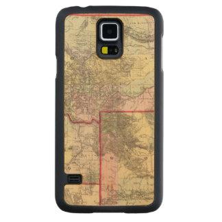 Mont, Ida, Wyo Carved Maple Galaxy S5 Slim Case
