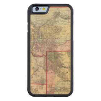Mont, Ida, Wyo Carved Maple iPhone 6 Bumper Case