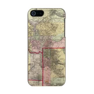 Mont, Ida, Wyo Metallic Phone Case For iPhone SE/5/5s