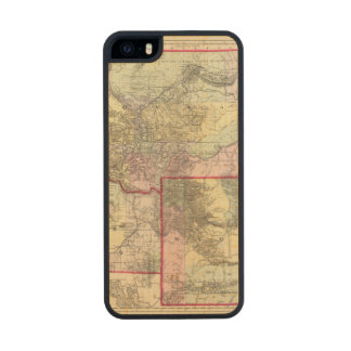Mont, Ida, Wyo Carved® Maple iPhone 5 Case