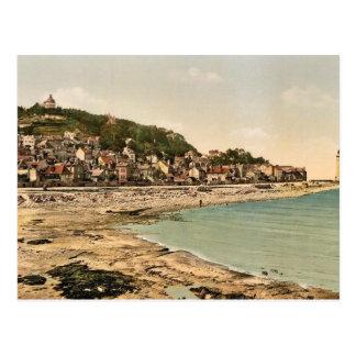 Mont Joli, Honfleur, France vintage Photochrom Postcard