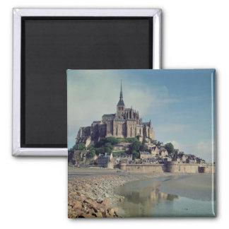 Mont Saint-Michel 2 Inch Square Magnet