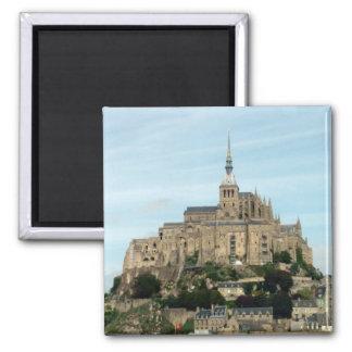 Mont Saint Michel 2 Inch Square Magnet