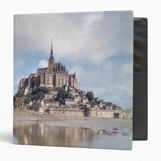 Mont Saint-Michel 3 Ring Binder