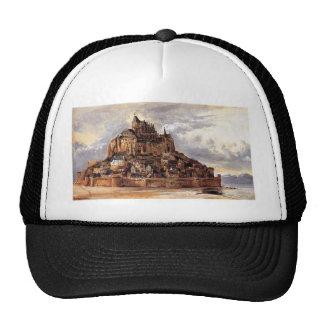 Mont Saint-Michel by Theodore Rousseau Trucker Hat