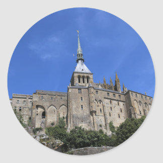 Mont Saint-Michel, France Classic Round Sticker