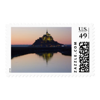 Mont Saint-Michel, France Postage