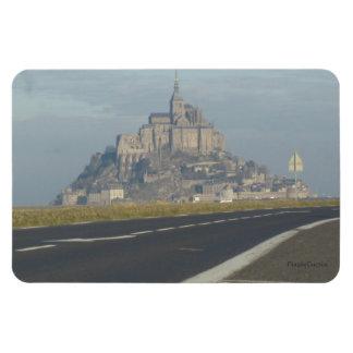 Mont Saint-Michel, France Rectangle Magnet