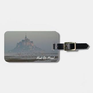 Mont Saint-Michel Luggage Tag