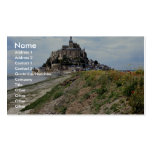 Mont-Saint-Michel, Normandy, France Double-Sided Standard Business Cards (Pack Of 100)