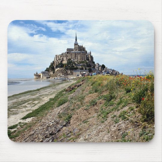 Mont-Saint-Michel, Normandy, France Mouse Pad