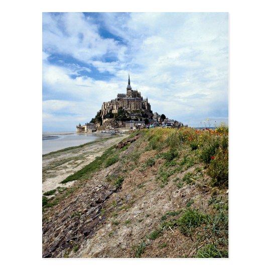 Mont-Saint-Michel, Normandy, France Postcard