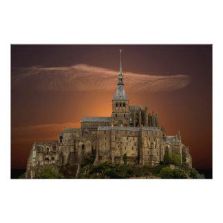 Mont-Saint-Michel Photo Print