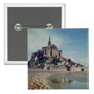 Mont Saint-Michel Pinback Button