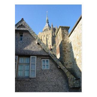 Mont-Saint-Michel Postcard