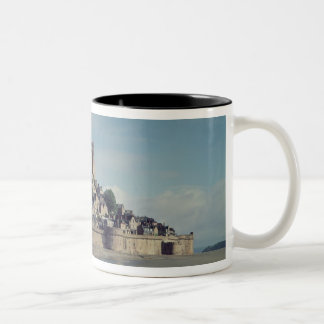 Mont Saint-Michel Two-Tone Coffee Mug