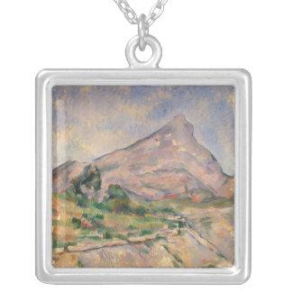 Mont Sainte-Victoire, 1897-98 Colgante Cuadrado