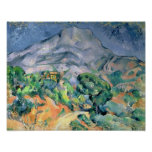 Mont Sainte-Victoire, 1900 Impresiones