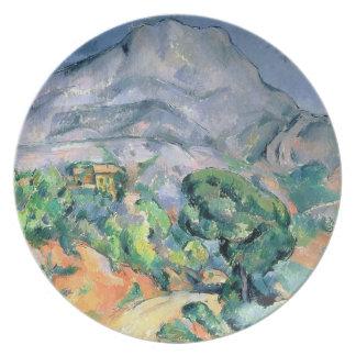 Mont Sainte-Victoire, 1900 Platos Para Fiestas