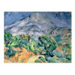 Mont Sainte-Victoire, 1900 Post Card