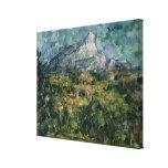 Mont Sainte-Victoire, 1904-05 Stretched Canvas Print