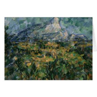 Mont Sainte-Victoire, 1904-05 Card